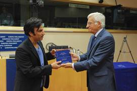 Mr Nuri Kino received the European Parliament's Journalism Prize in 2011
