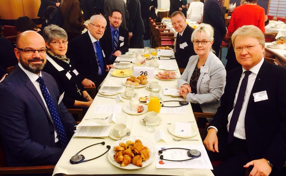 European Prayer Breakfast i Bryssel