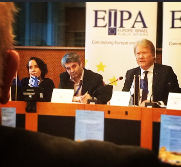 "My speech at today's conference ""Safeguarding the Peace Process in the Middle East – Can the EU be ""an honest broker?"""